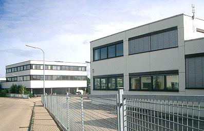 Bürogebäude für Vertrieb und Verwaltung im Gewerbepark A7