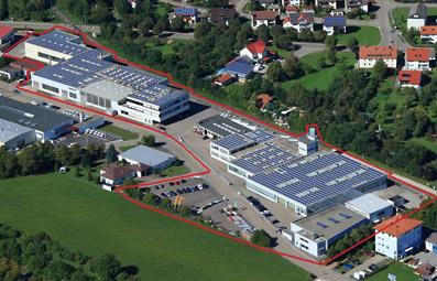 Gewerbehallen für Lager und Produktion im Gewerbegebiet Westhausen