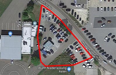 Zentrale Gewerbefläche für Autohandel