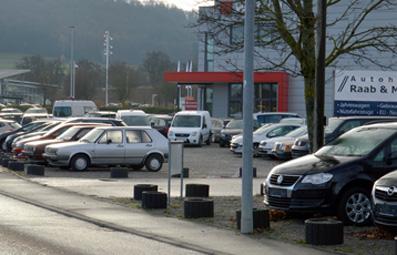 Freifläche, Autoverkaufsplatz (aufteilbar)