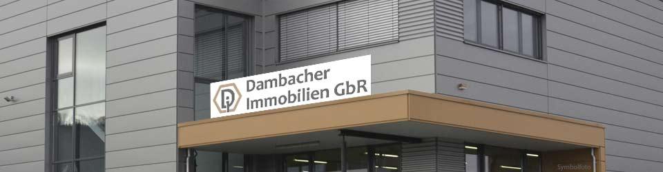 Dambacher Immobilien GbR, Telefon: 07363 954 958-0