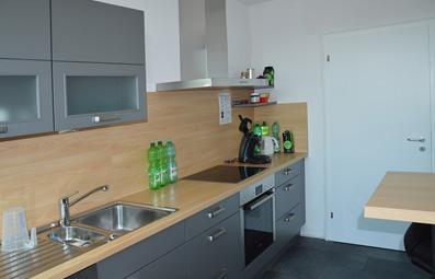 Küchenbereich für Catering