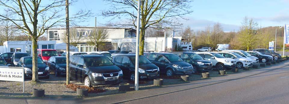 Freifläche Autoverkaufsplatz